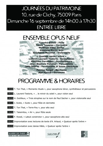 Programme et horaires du concert pour la journée du patrimoine le 16 septembre.jpg